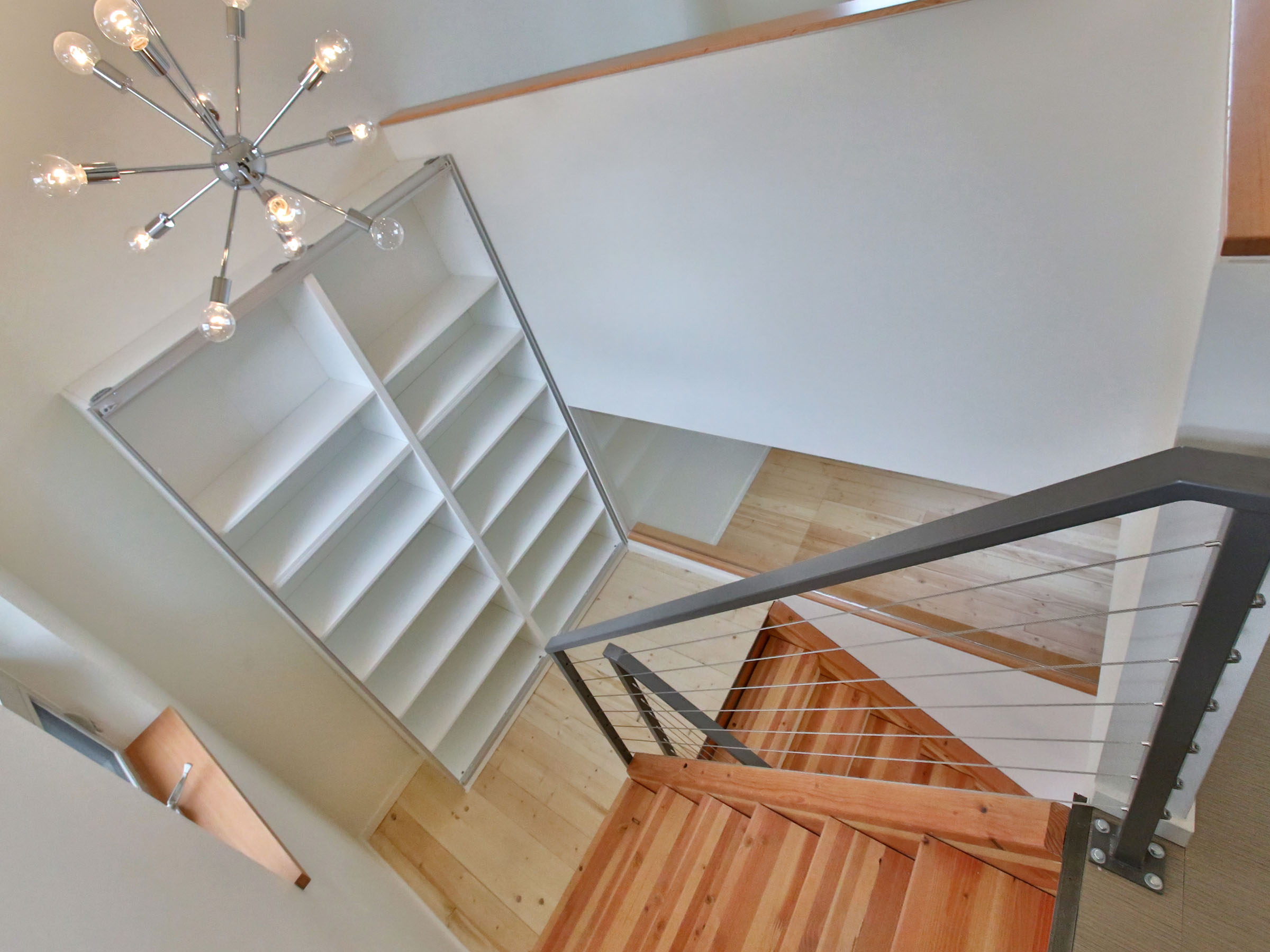 A custom built multi-family home in Portland from The Powell Group home builders.