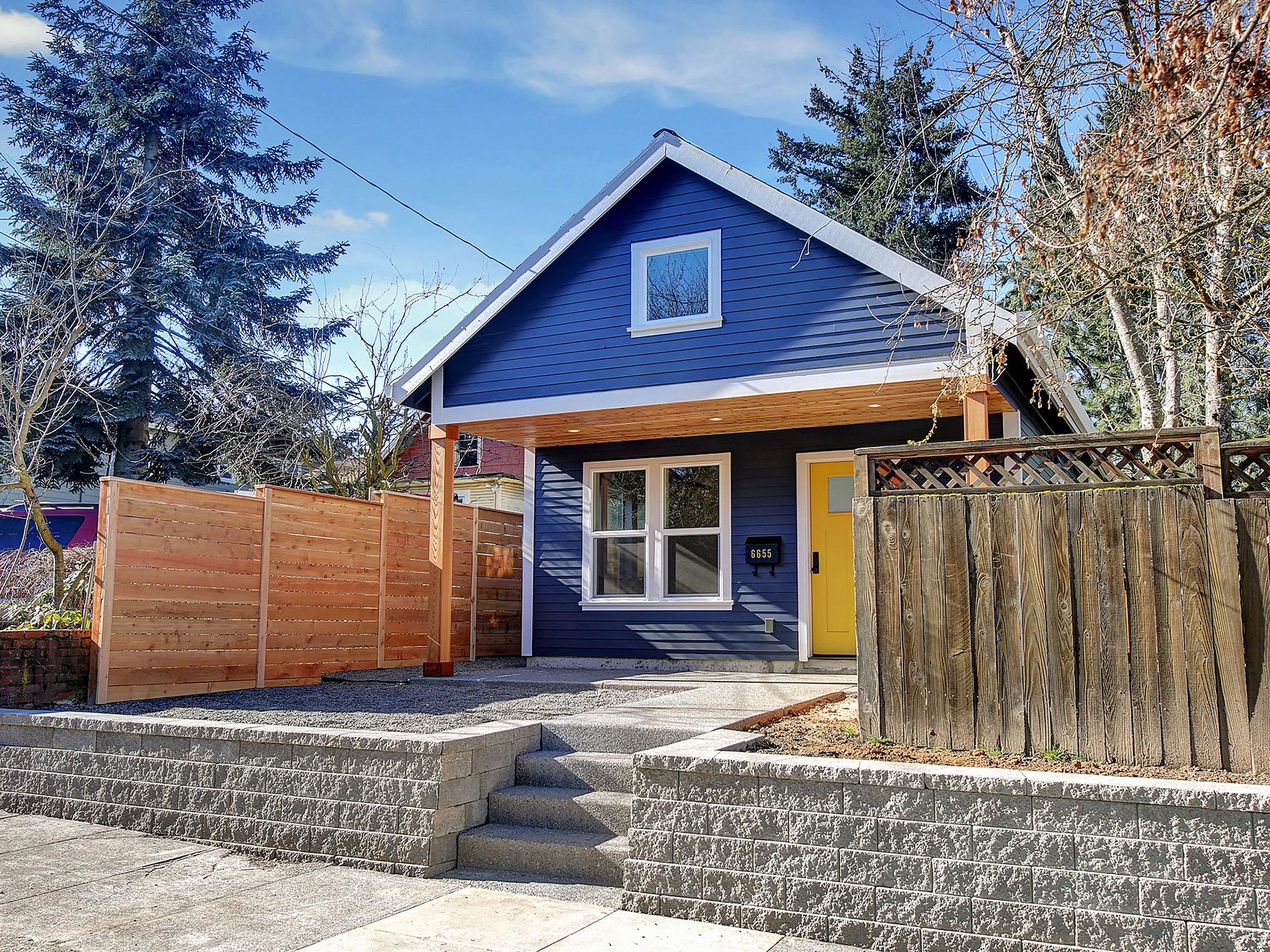 Portland micro house adu builders