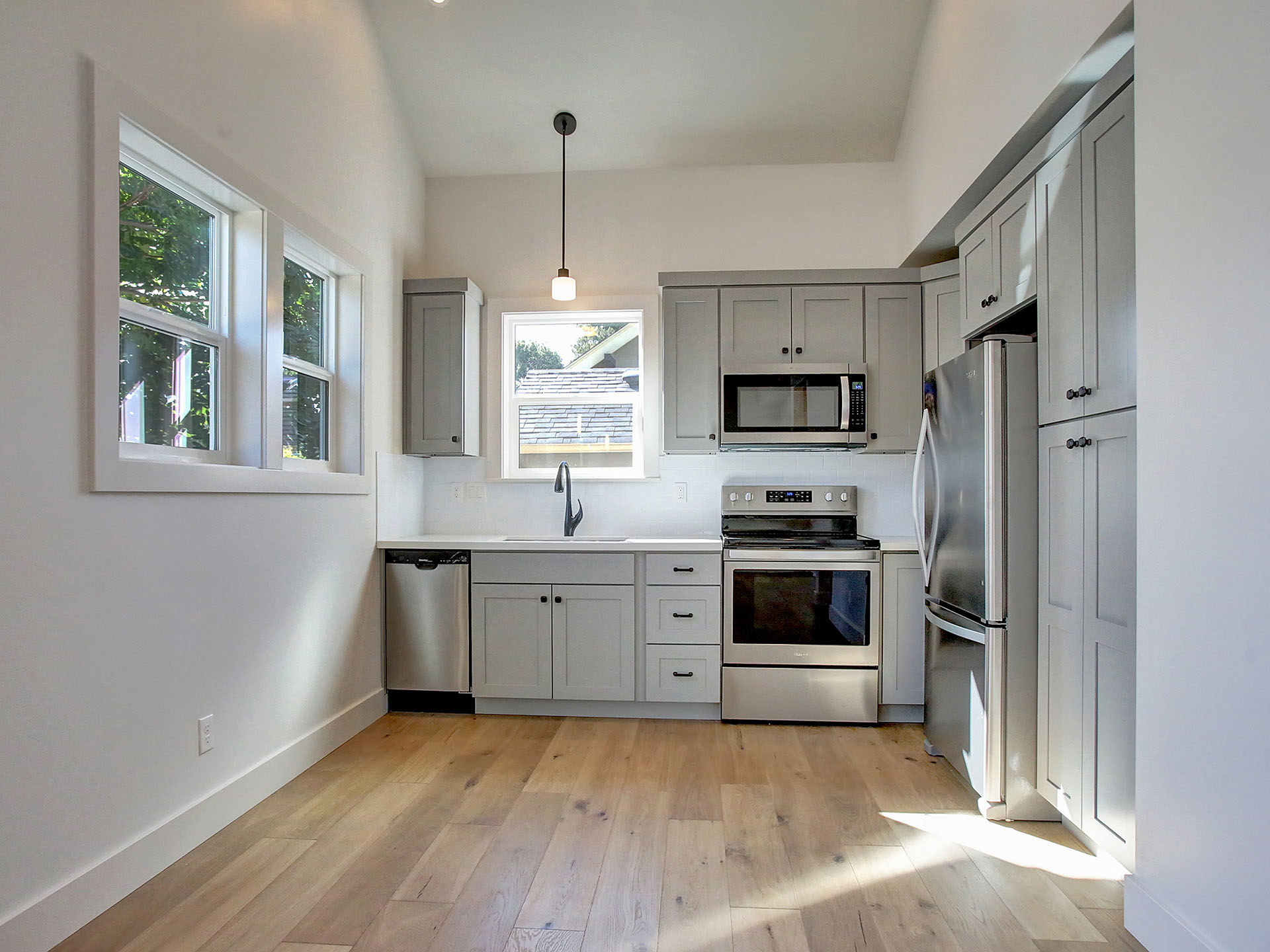 A custom built micro house in Portland from The Powell Group